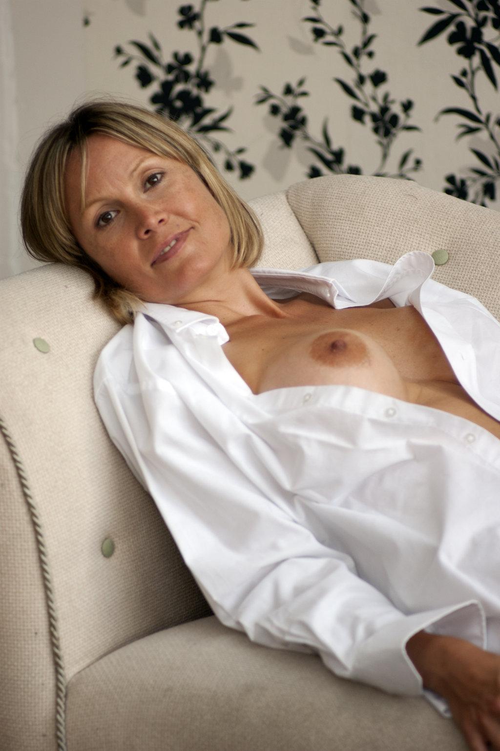 Mature nudes open Shirt
